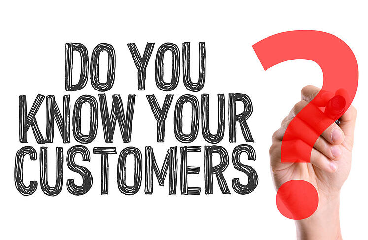 Hand-with-marker-writing-the-word-Do-You-Know-Your-Customers