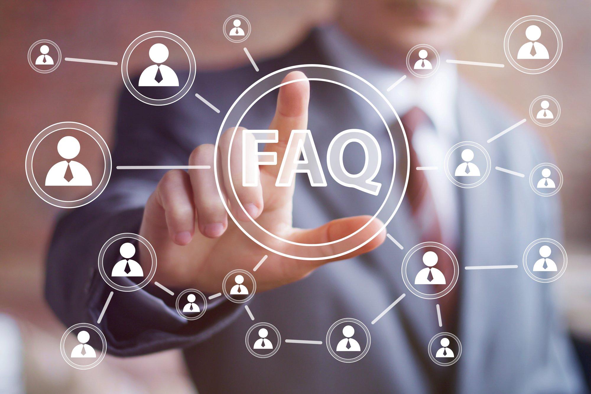 Business button FAQ