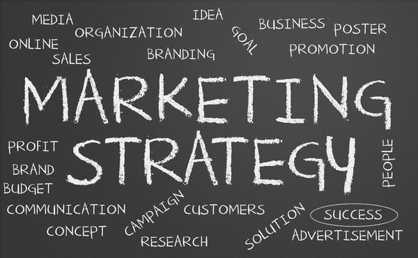 marketing strategies board