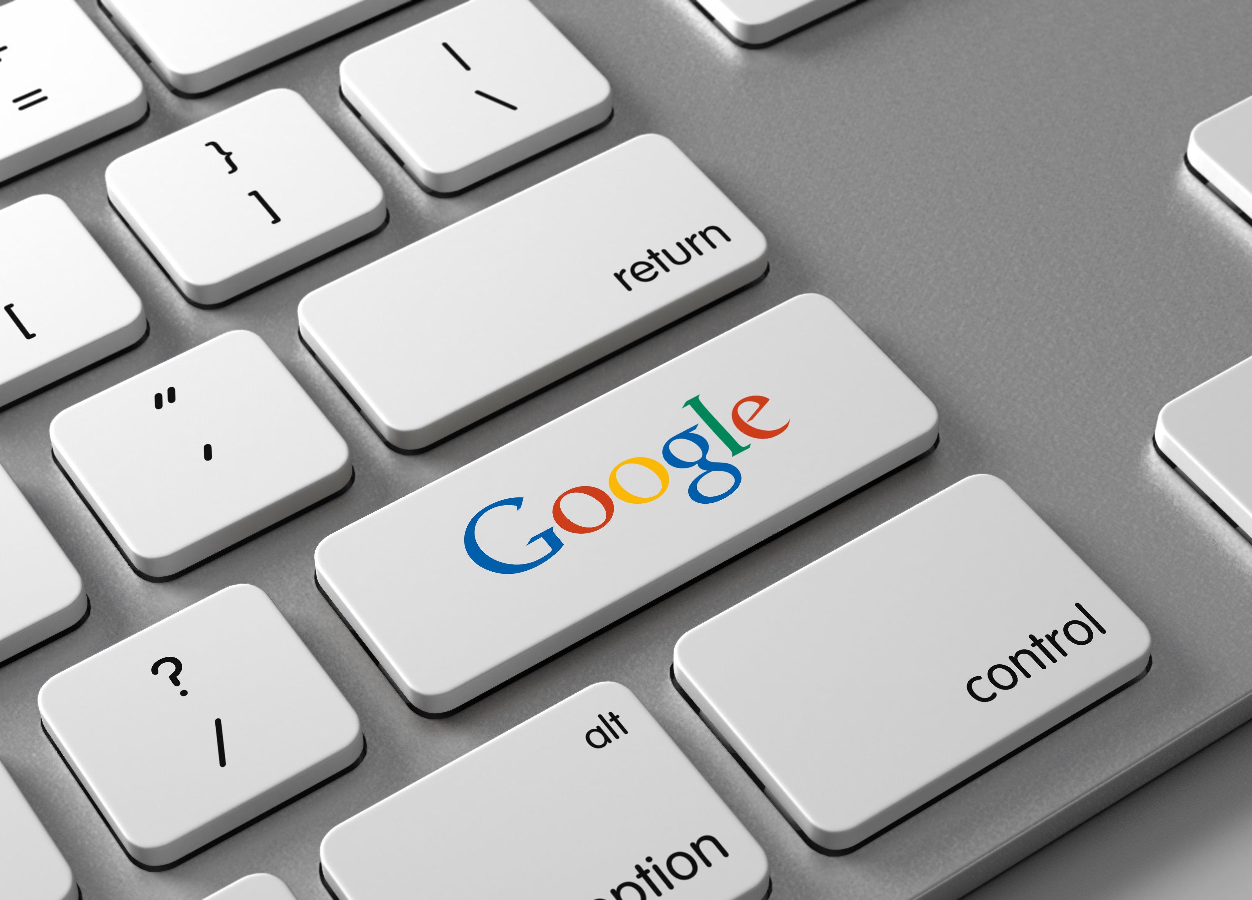 GoogleButtonOnKeyboard