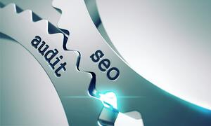 Seo Audit Concept on the Mechanism of Metal Cogwheels.