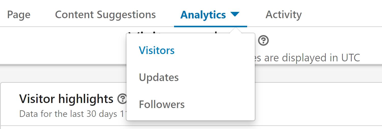 linkedin metrics
